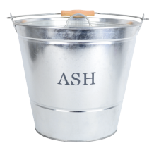 Ash Bucket - Galvanised